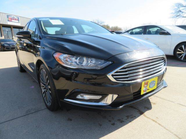 2017 Ford Fusion Hybrid for sale in Plano, TX