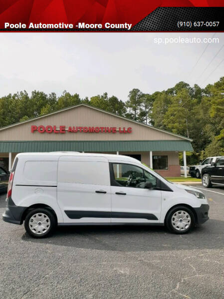 2015 Ford Transit Connect Cargo for sale at Poole Automotive in Laurinburg NC