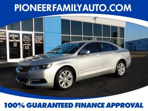 2019 Chevrolet Impala for sale at Pioneer Family auto in Marietta OH