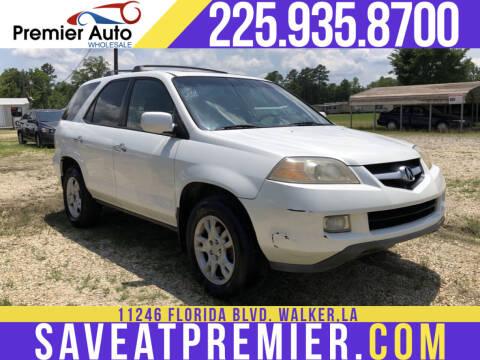 2006 Acura MDX for sale at Premier Auto Wholesale in Baton Rouge LA