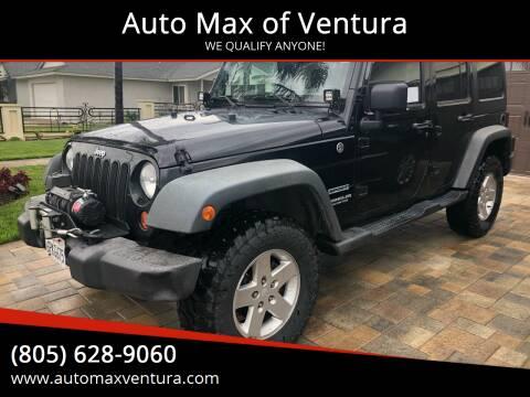 2011 Jeep Wrangler Unlimited for sale at Auto Max of Ventura in Ventura CA