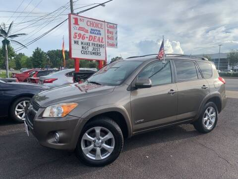2009 Toyota RAV4 for sale at 1st Choice Auto Sales in Newport News VA
