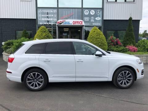 2017 Audi Q7 for sale at Advance Auto Center in Rockland MA