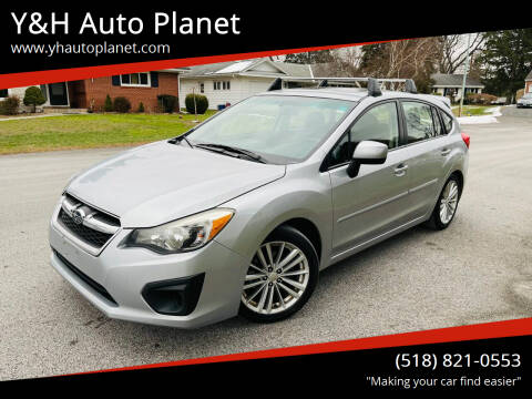2012 Subaru Impreza for sale at Y&H Auto Planet in West Sand Lake NY
