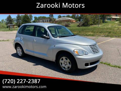 2009 Chrysler PT Cruiser for sale at Zarooki Motors in Englewood CO