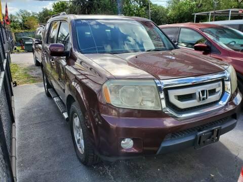 2010 Honda Pilot for sale at America Auto Wholesale Inc in Miami FL