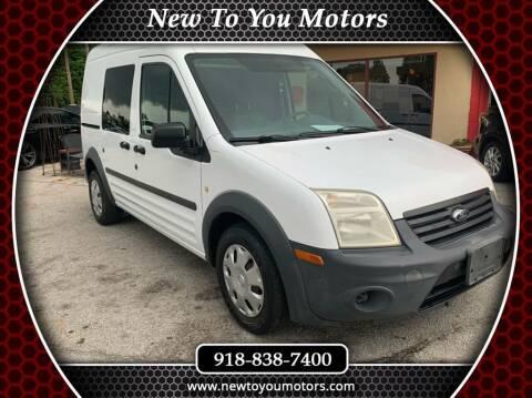 2012 Ford Transit Connect for sale at New To You Motors in Tulsa OK