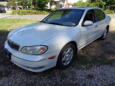 2001 Infiniti I30 for sale at Liberty Motors in Chesapeake VA
