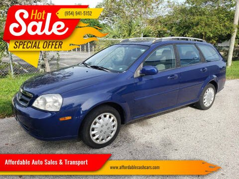 2006 Suzuki Forenza for sale at Affordable Auto Sales & Transport in Pompano Beach FL