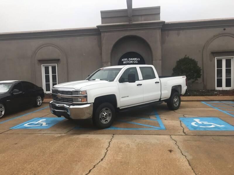 2016 Chevrolet Silverado 2500HD for sale at Noel Daniels Motor Company in Brandon MS
