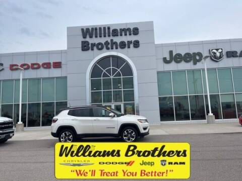 2020 Jeep Compass for sale at Williams Brothers - Pre-Owned Monroe in Monroe MI