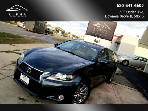 2013 Lexus GS 350 for sale at Alpha Luxury Motors in Downers Grove IL