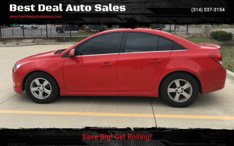 2014 Chevrolet Cruze for sale at Best Deal Auto Sales in Saint Charles MO