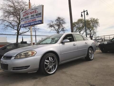 2006 Chevrolet Impala for sale at Auto Toyz Inc in Lodi CA