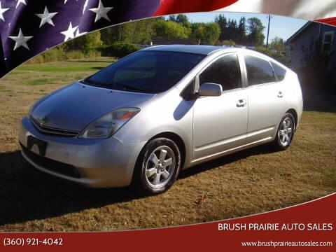 2005 Toyota Prius for sale at Brush Prairie Auto Sales in Battle Ground WA