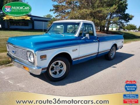 1972 Chevrolet C/K 10 Series for sale at ROUTE 36 MOTORCARS in Dublin OH