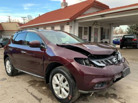 2014 Nissan Murano for sale at STS Automotive in Denver CO