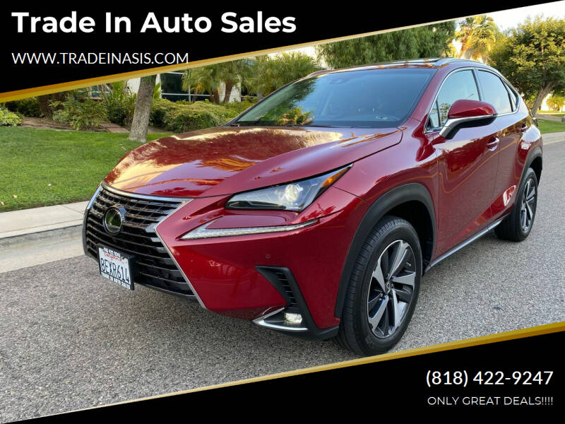 2019 Lexus NX 300 for sale at Trade In Auto Sales in Van Nuys CA