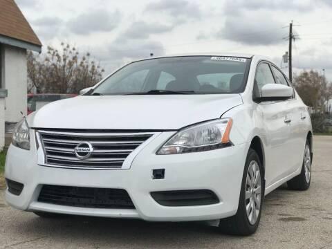 2013 Nissan Sentra for sale at Makka Auto Sales in Dallas TX