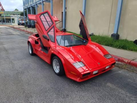 1985 Lamborghini Countach for sale at TITANIUM AUTO SALE in Houston TX
