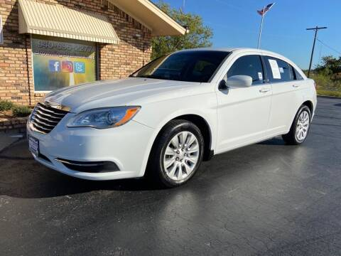 2013 Chrysler 200 for sale at Browning's Reliable Cars & Trucks in Wichita Falls TX