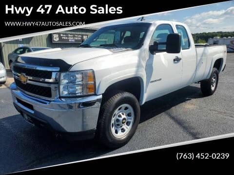 2013 Chevrolet Silverado 3500HD for sale at Hwy 47 Auto Sales in Saint Francis MN