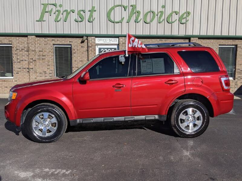 2012 Ford Escape for sale at First Choice Auto in Greenville SC