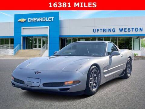 2004 Chevrolet Corvette for sale at Uftring Weston Pre-Owned Center in Peoria IL