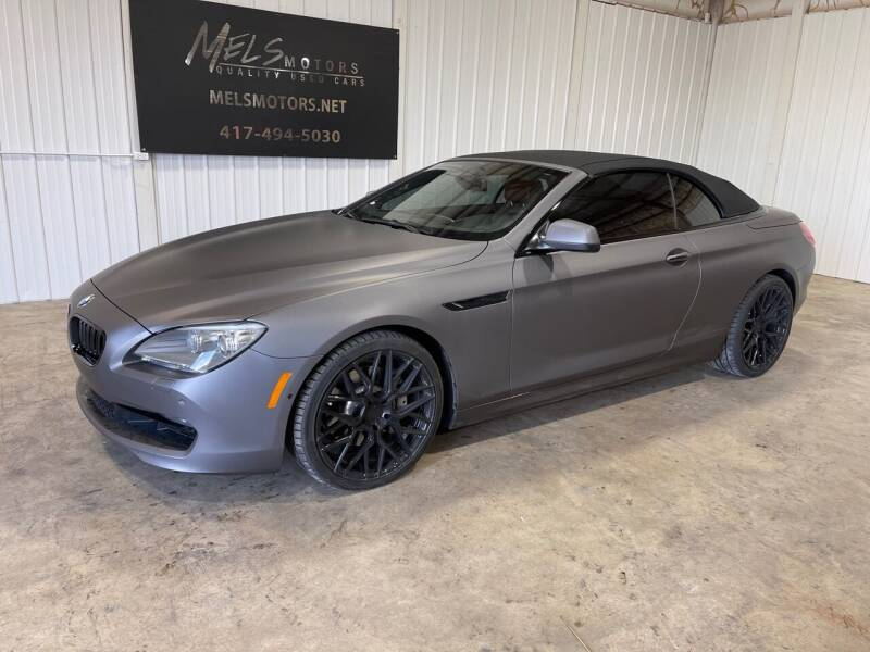 2014 BMW 6 Series for sale at Mel's Motors in Nixa MO