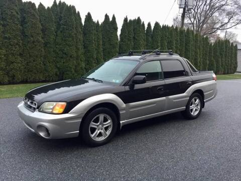 2003 Subaru Baja for sale at Kingdom Autohaus LLC in Landisville PA