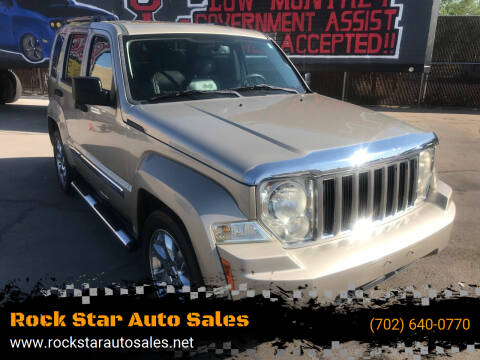 2010 Jeep Liberty for sale at Rock Star Auto Sales in Las Vegas NV