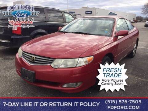 2002 Toyota Camry Solara for sale at Fort Dodge Ford Lincoln Toyota in Fort Dodge IA
