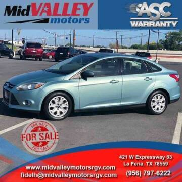 2012 Ford Focus for sale at Mid Valley Motors in La Feria TX