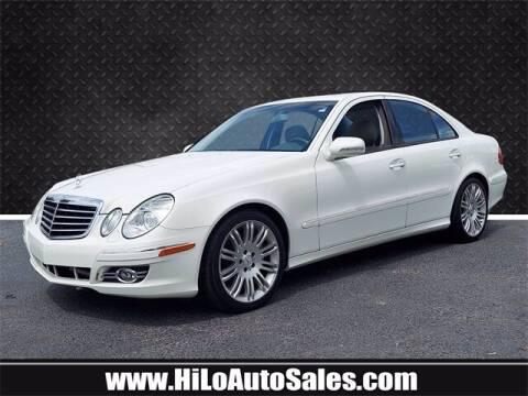 2007 Mercedes-Benz E-Class for sale at Hi-Lo Auto Sales in Frederick MD