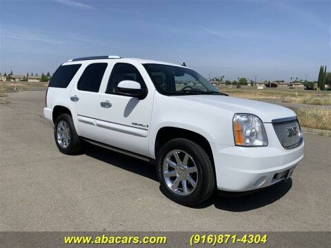 2007 GMC Yukon for sale at About New Auto Sales in Lincoln CA