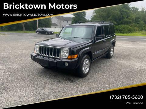 2008 Jeep Commander for sale at Bricktown Motors in Brick NJ