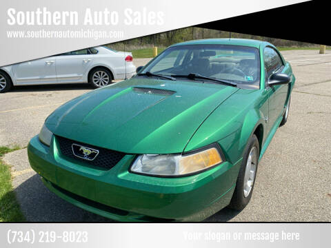 1999 Ford Mustang for sale at Southern Auto Sales in Clinton MI