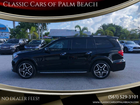 2019 Mercedes-Benz GLS for sale at Classic Cars of Palm Beach in Jupiter FL
