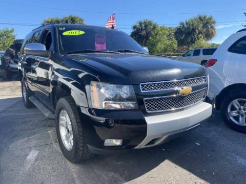 2012 Chevrolet Tahoe for sale at Mike Auto Sales in West Palm Beach FL