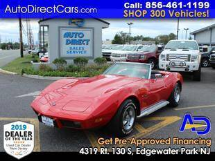 1975 Chevrolet Corvette for sale at Auto Direct Trucks.com in Edgewater Park NJ