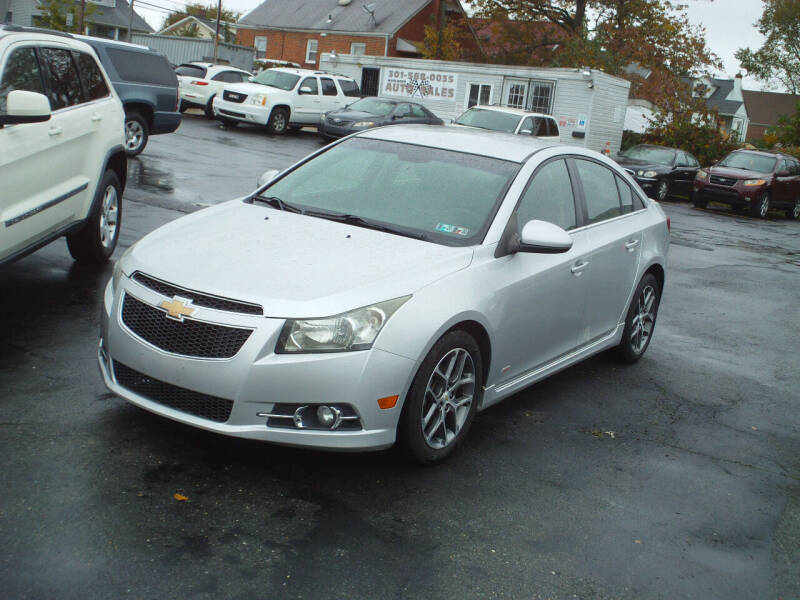 2011 Chevrolet Cruze for sale at Marlboro Auto Sales in Capitol Heights MD
