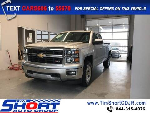 2015 Chevrolet Silverado 1500 for sale at Tim Short Chrysler in Morehead KY