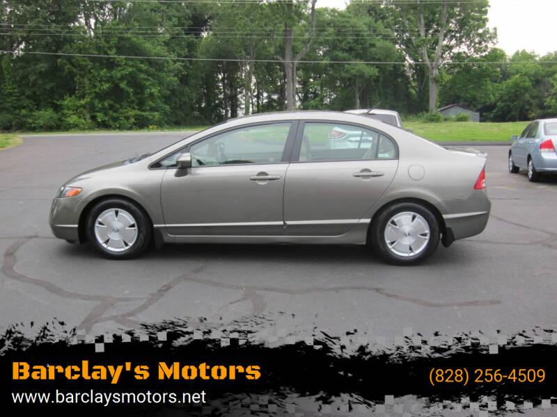 2007 Honda Civic for sale at Barclay's Motors in Conover NC