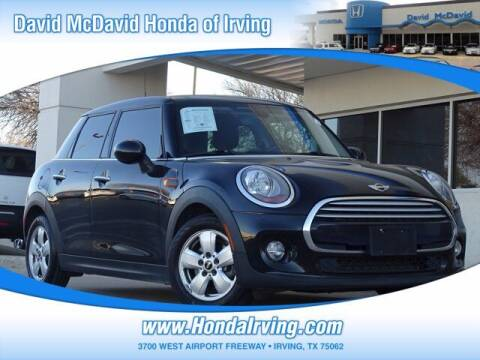 2015 MINI Hardtop 4 Door for sale at DAVID McDAVID HONDA OF IRVING in Irving TX
