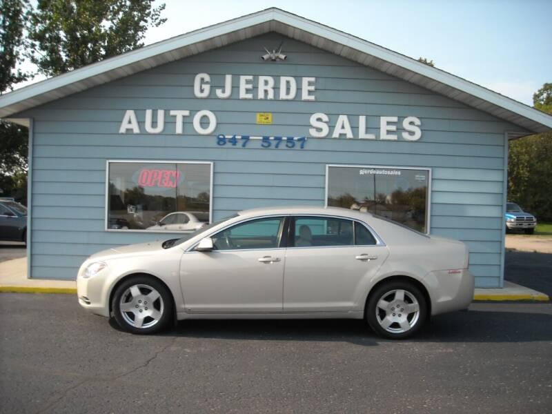 2009 Chevrolet Malibu for sale at GJERDE AUTO SALES in Detroit Lakes MN