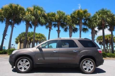 2010 GMC Acadia for sale at Gulf Financial Solutions Inc DBA GFS Autos in Panama City Beach FL