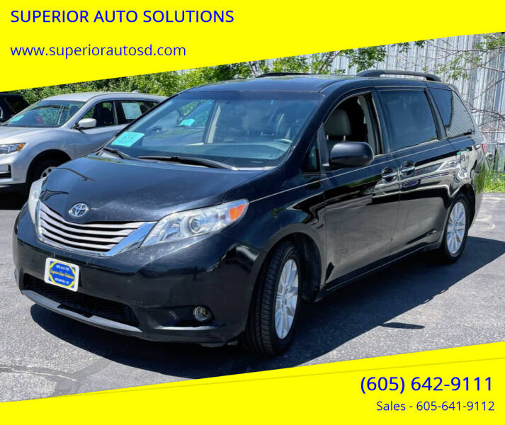 2015 Toyota Sienna for sale at SUPERIOR AUTO SOLUTIONS in Spearfish SD