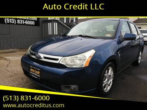 2008 Ford Focus for sale at Auto Credit LLC in Milford OH
