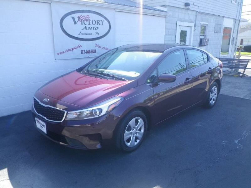 2018 Kia Forte for sale at VICTORY AUTO in Lewistown PA