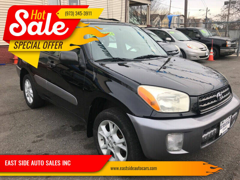 2003 Toyota RAV4 for sale at EAST SIDE AUTO SALES INC in Paterson NJ